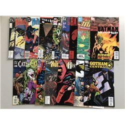 Lot of (50) DC Batman Comic Books