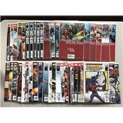 Lot of (43) 2006-08 Marvel Amazing Spider-Man Comic Books