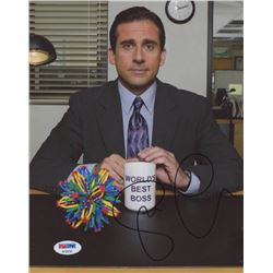 "Steve Carell Signed ""The Office"" 8x10 Photo (PSA Hologram)"