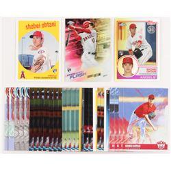 Lot of (30) Shohei Ohtani RC Baseball Cards