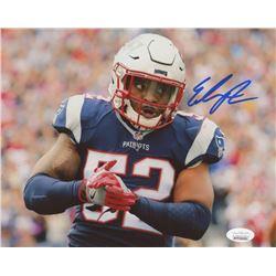 Elandon Roberts Signed New England Patriots 8x10 Photo (JSA COA)