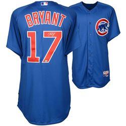 Kris Bryant Signed Cubs Majestic Authentic Jersey (MLB Hologram  Fanatics Hologram)