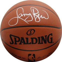 Larry Bird Signed Official NBA Game Ball (Fanatics Hologram)