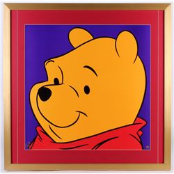 "Pooh ""Winnie The Pooh"" LE 1997 Walt Disney 29x29 Custom Framed Lithograph"