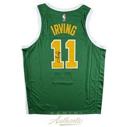 Kyle Irving Signed Boston Celtics Nike Earned Edition Jersey (Panini COA)