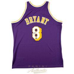 Kobe Bryant Signed Mitchell  Ness 1996-97 Purple Los Angeles Lakers Jersey (Panini COA)