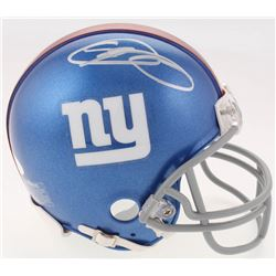 Odell Beckham Jr. Signed New York Giants Mini Helmet (JSA COA)
