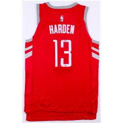 James Harden Signed Houston Rockets Nike Jersey (Beckett COA)