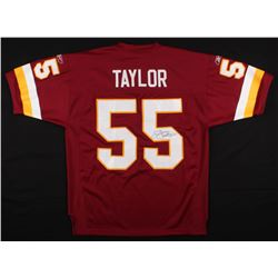 Jason Taylor Signed Washington Redskins Jersey (JSA COA)