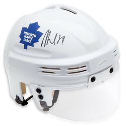 William Nylander Signed Toronto Maple Leafs Mini Helmet (UDA COA)