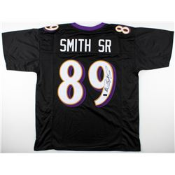 Steve Smith Sr. Signed Baltimore Ravens Jersey (Radtke COA)