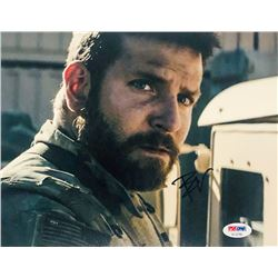 "Bradley Cooper Signed ""American Sniper"" 8x10 Photo (PSA COA)"