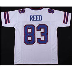 "Andre Reed Signed Buffalo Bills Jersey Inscribed ""HOF 14"" (Radtke COA)"