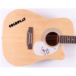 "Chris Martin Signed 41"" Acoustic Guitar (Beckett Hologram)"