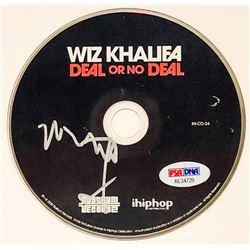 """Wiz Khalifa Signed """"Deal Or No Deal"""" CD Disc (PSA COA)"""