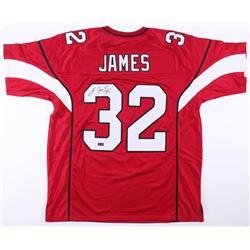 Edgerrin James Signed Arizona Cardinals Jersey (Radtke COA)