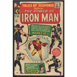 """1964 """"Tales of Suspense"""" Issue #57 Marvel Comic Book"""
