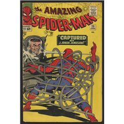 "1965 ""The Amazing Spider-Man"" Issue #25 Marvel Comic Book"