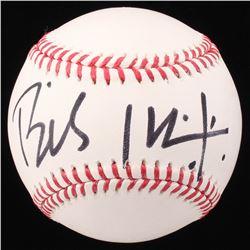 Billy Idol Signed OML Baseball (Beckett COA)