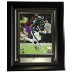 Jay Ajayi Signed Philadelphia Eagles 11x14 Custom Framed Photo Display (JSA COA)