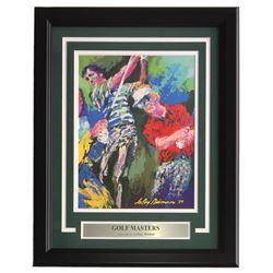 "LeRoy Neiman ""Golf Maters"" 9x12 Custom Framed Photo Display"