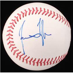 James Taylor Signed OML Baseball (Beckett COA)