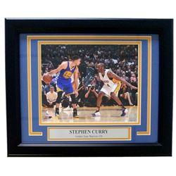 Stephen Curry Golden State Warriors 11x14 Custom Framed Photo Display