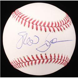 Susan Sarandon Signed OML Baseball (Beckett COA)