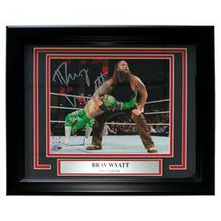 Bray Wyatt Signed WWE 13x16 Custom Framed Photo Display (SI COA)