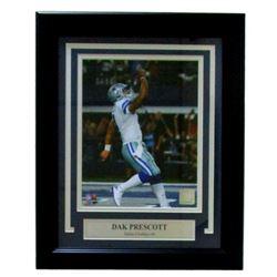 Dak Prescott Dallas Cowboys 14x17 Custom Framed Photo Display