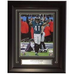 Ronald Darby Signed Philadelphia Eagles 11x14 Custom Framed Photo Display (JSA COA)