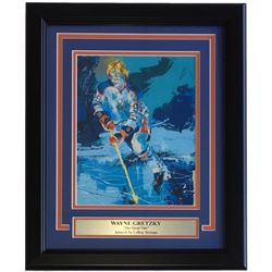 "Leroy Neiman ""The Great One"" 15x18 Custom Framed Print Display"