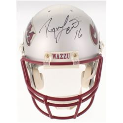 Ryan Leaf Signed Washington State Cougars Full-Size Authentic On-Field Helmet (PSA COA)
