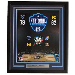 "2018 Villanova Wildcats ""Final Four"" 22x27 Custom Framed Photo Display"