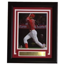 Shohei Ohtani Los Angeles Angels 11x14 Custom Framed Photo Display