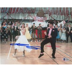 "John Travolta Signed ""Grease"" 8x10 Photo (Beckett Hologram)"