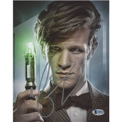 "Matt Smith Signed ""Doctor Who"" 8x10 Photo (Beckett COA)"