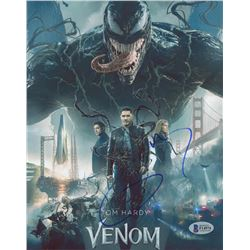 "Tom Hardy Signed ""Venom"" 8x10 Photo (Beckett COA)"