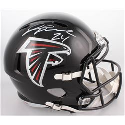 Devonta Freeman Signed Atlanta Falcons Full-Size Speed Helmet (Radtke COA)