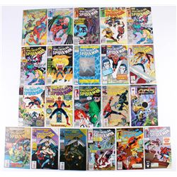 """Lot of (20) 1988-1994 """"The Spectacular Spider-Man"""" Marvel Comic Books"""