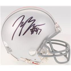 Joey Bosa Signed Ohio State Buckeyes Mini Helmet (JSA COA)