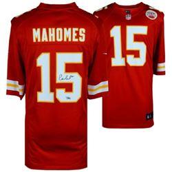 Patrick Mahomes II Signed Kansas City Chiefs Jersey (Fanatics Hologram)