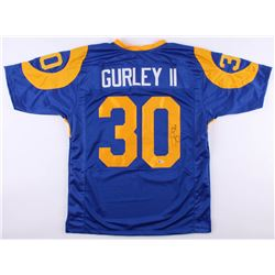 Todd Gurley II Signed Los Angeles Rams Jersey (Beckett COA)
