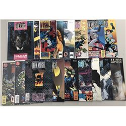 Lot of (35) 1989-2006 DC Batman Legends of the Dark Knight Comic Books