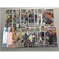 Lot of (49) 1990-1996 Marvel Avengers Comic Books