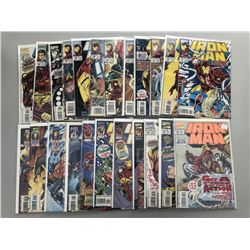 Lot of (83) 1977-1996 Iron Man Marvel Comic Books