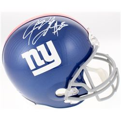 Jeremy Shockey Signed New York Giants Full-Size Helmet (JSA COA)
