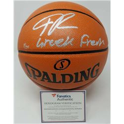 "Giannis Antetokounmpo Signed LE Official NBA Game Ball Series Basketball Inscribed ""Greek Freak"" (Fa"