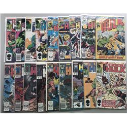 Lot of (35) 1962-1999 Marvel Incredible Hulk Comic Books