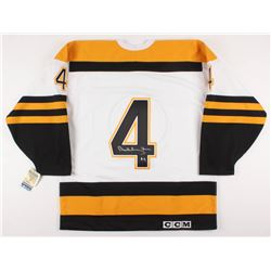 Bobby Orr Signed Boston Bruins 1967 Authentic Rookie Game Jersey (Orr COA)